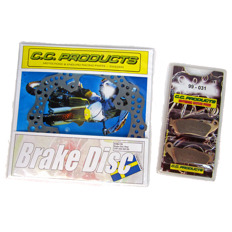All brake discs and brake pads