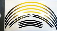 Fälg Stripes Gul/Svart